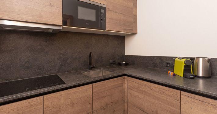 Neue, moderne Küche in Ferienwohnung Tirol, Apart Peppone
