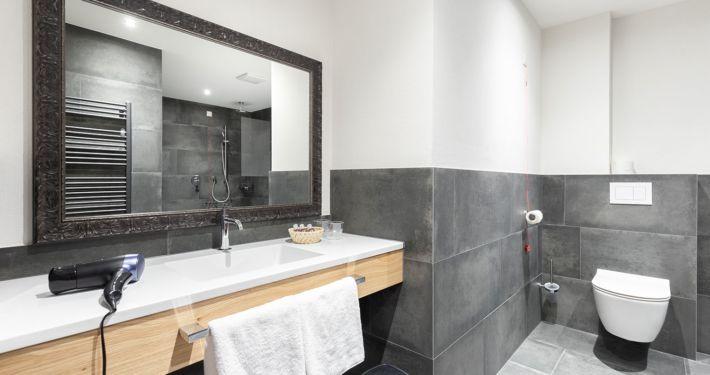 Modernes badezimmer luxus Ferienwohnung Apart Peppone