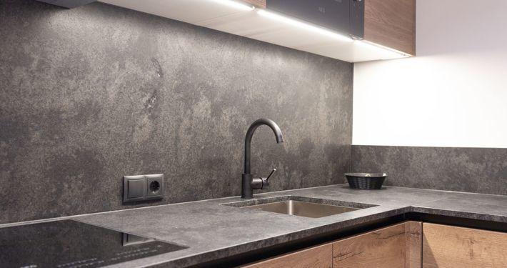 Küche in Luxus Appartement im Apart Peppone, Tirol