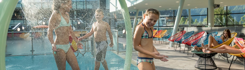 Therme Aqua Dome Bereich für Kinder