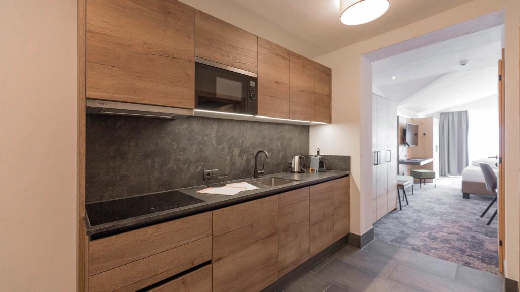 Küche im Luxus Appartement Typ5 Apart Peppone