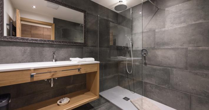 Badezimmer im Luxus Appartement Typ5 Apart Peppone