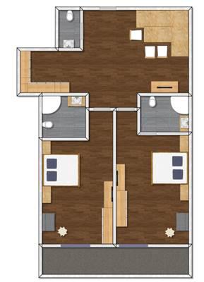 Apart Peppone Appartement Typ 4